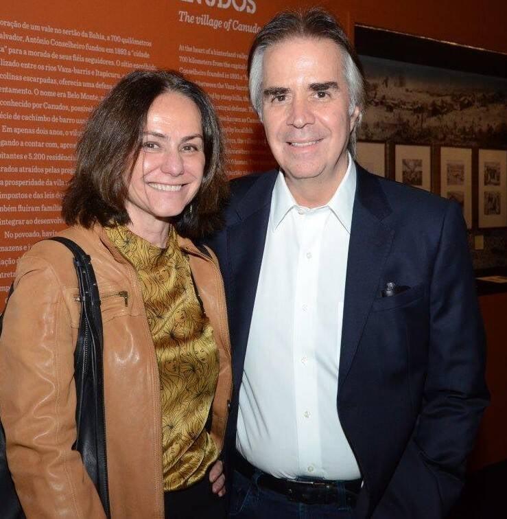 Claudia Jaguaribe e Luiz Roberto Nascimento Silva  /Foto: Marco Rodrigues