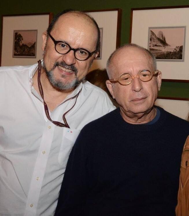 Joaquim Marçal e Celso Brandão  /Foto: Marco Rodrigues