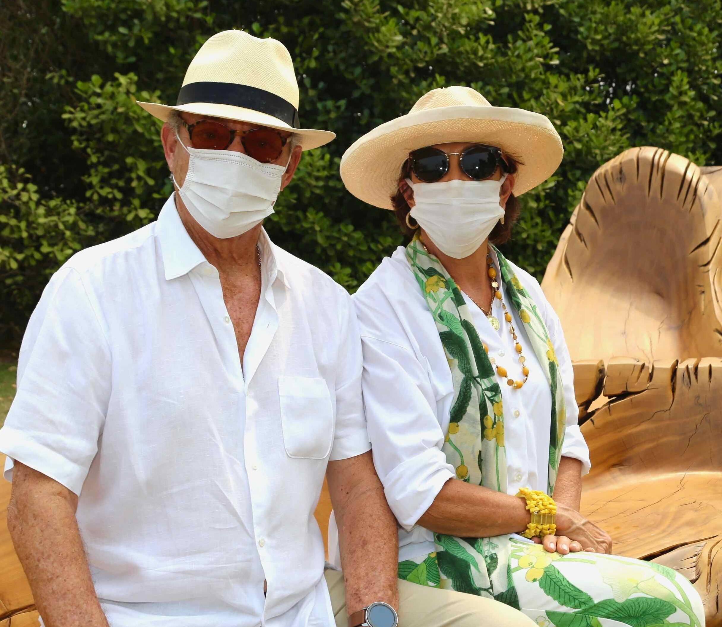 João e Cecilia Amorim de Souza  /Foto: Denise Andrade
