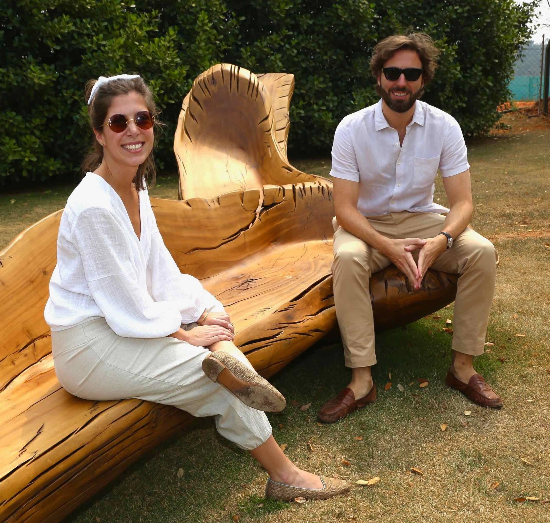 Marcelo Vicentin e Maria Helena Neves /Foto: Denise Andrade