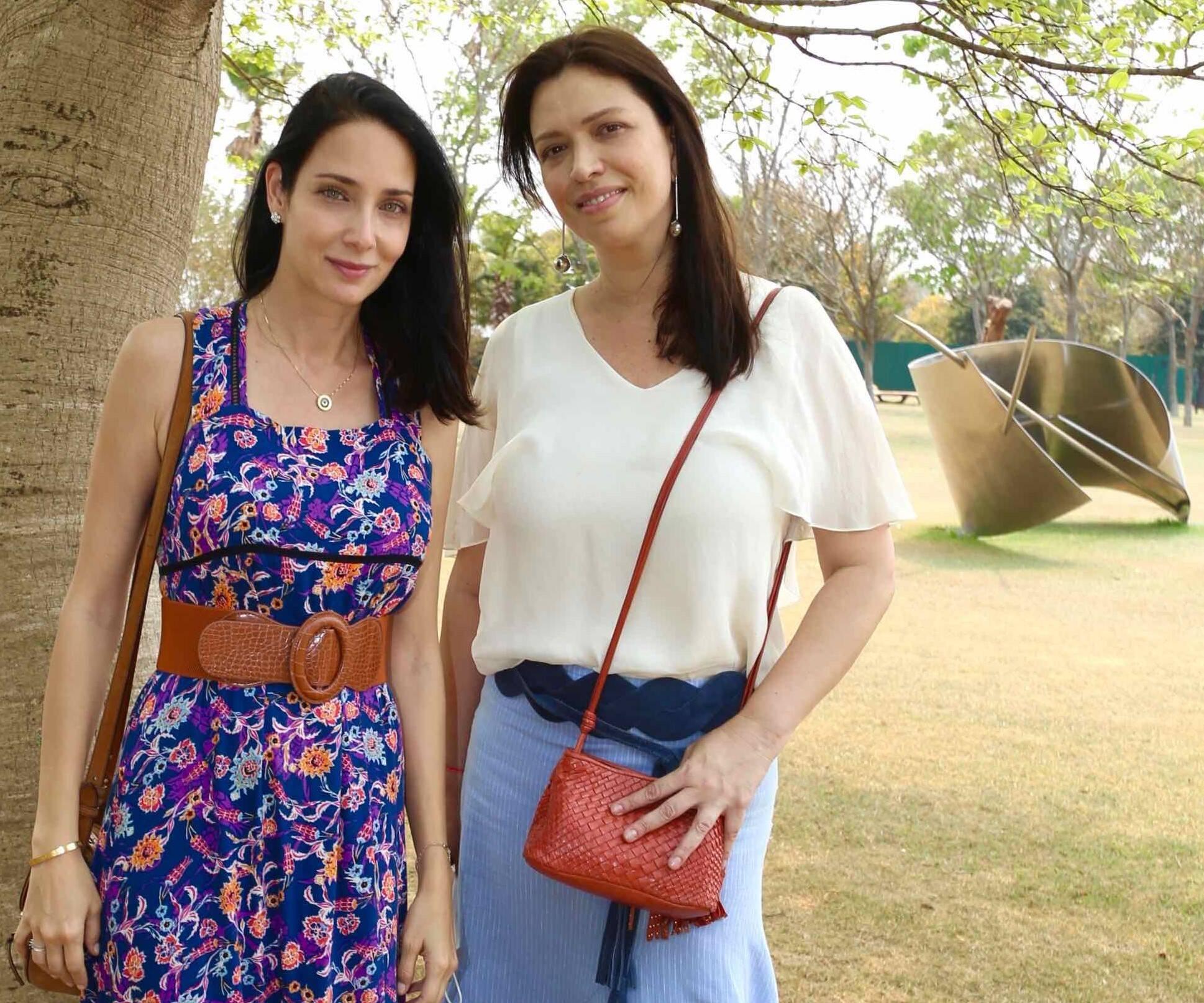Patricia Barros e Graziela Martine /Foto: Denise Andrade