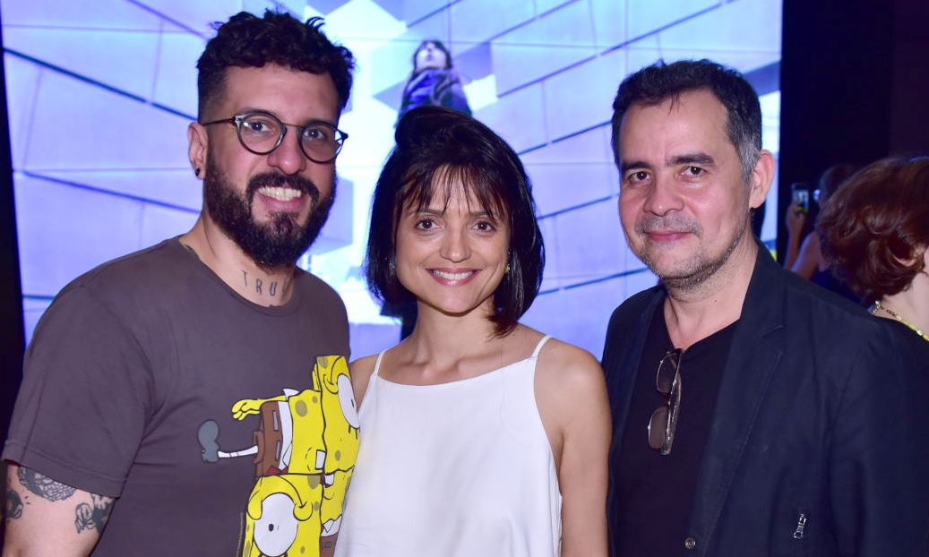 Bruno Miguel, Flávia Corpas  e Alberto Saraiva  /Fotos: Paulo Jabur