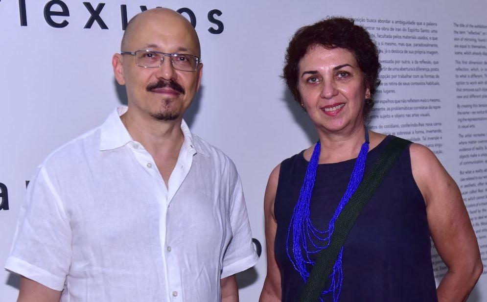 Iran do Espírito Santo e  Suzana Queiroga /Fotos: Paulo Jabur