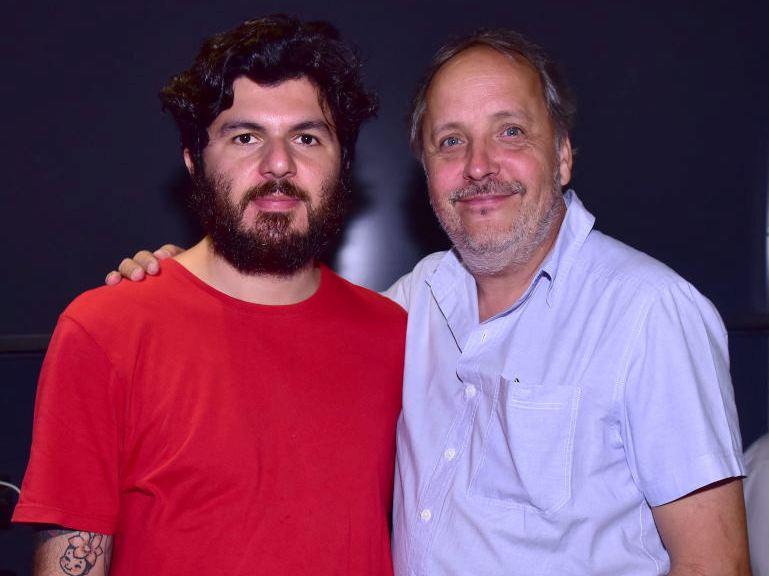 Elvis Almeida  e Barrão /Fotos: Paulo Jabur