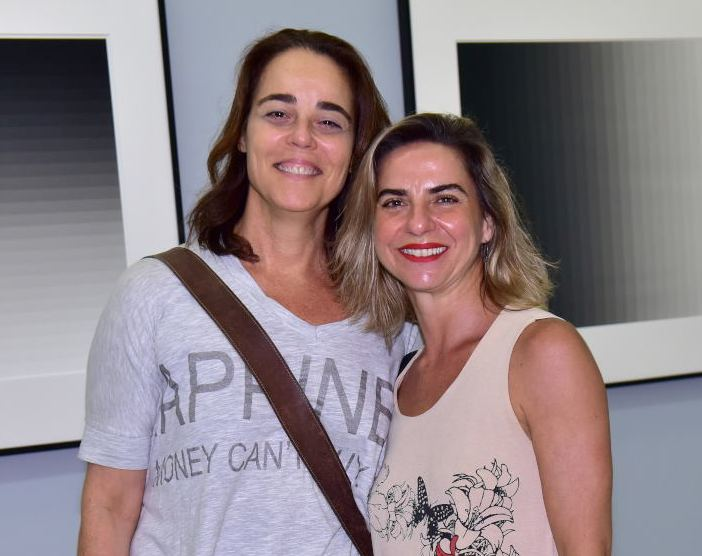 Úrsula Tautz e  Fernanda Satamini /Fotos: Paulo Jabur