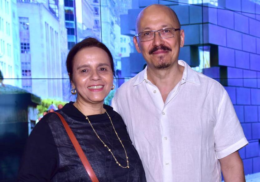 Beatriz Milhazes e Iran do Espírito Santo /Fotos: Paulo Jabur