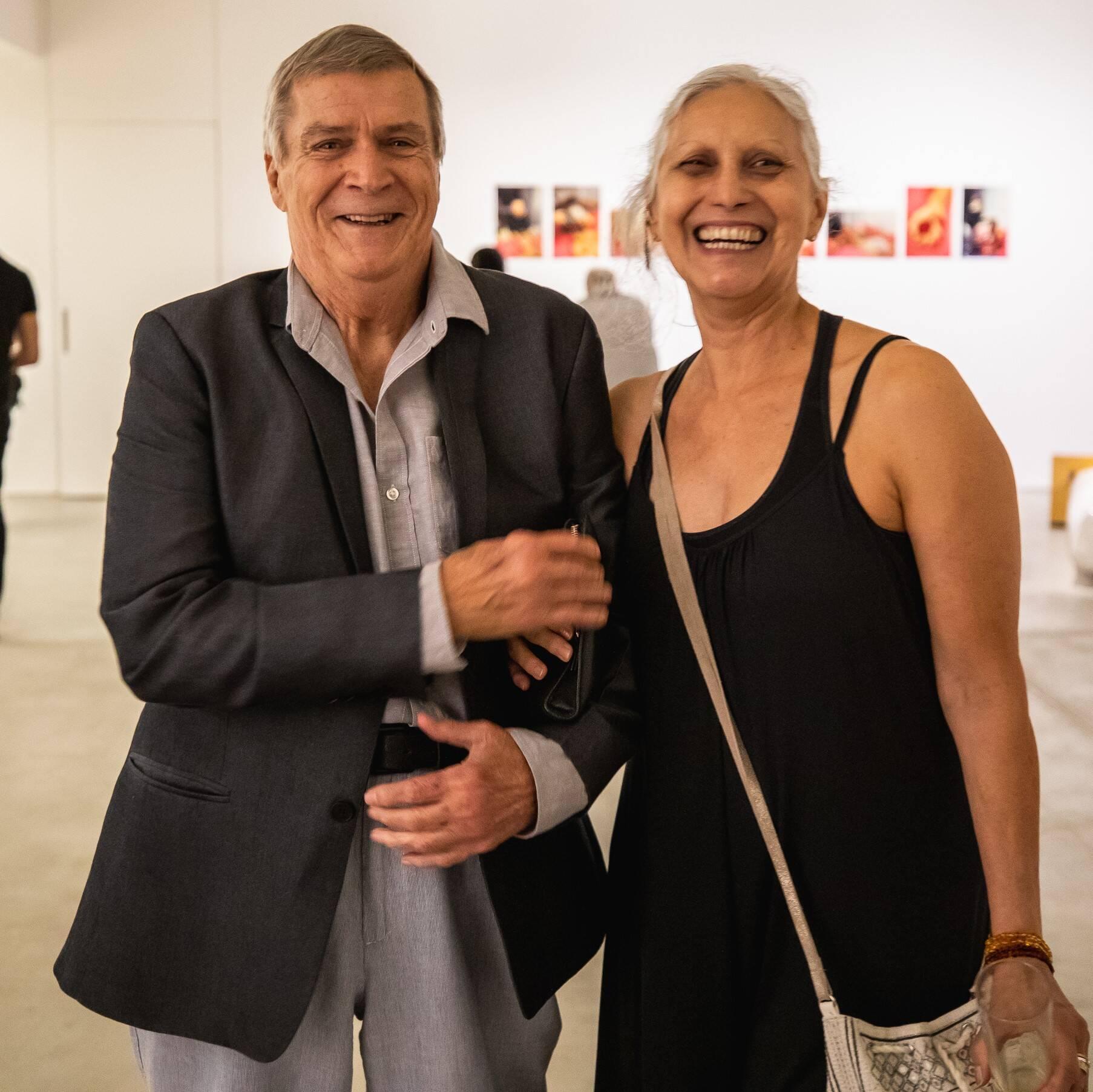 Álvaro Clark e Sandra Brito /Foto: Luke Garcia