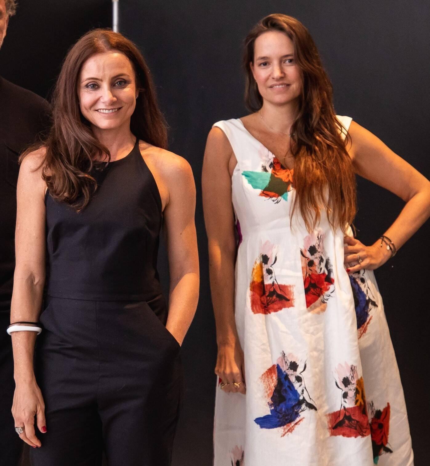 Carolyna Aguiar e Brenda Valansi  /Foto: Luke Garcia
