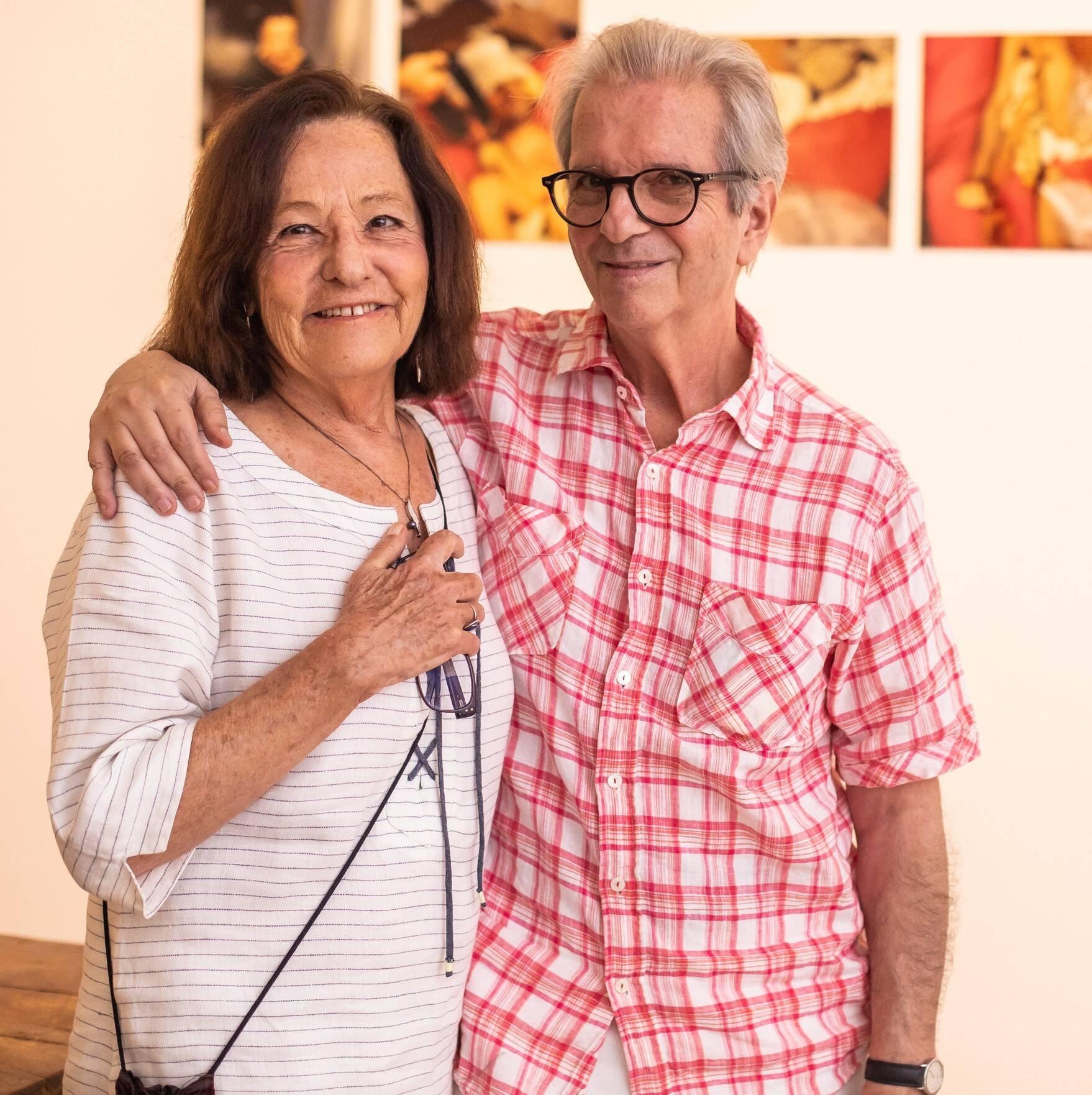 Sandra e Paulo Sergio Duarte  /Foto: Luke Garcia