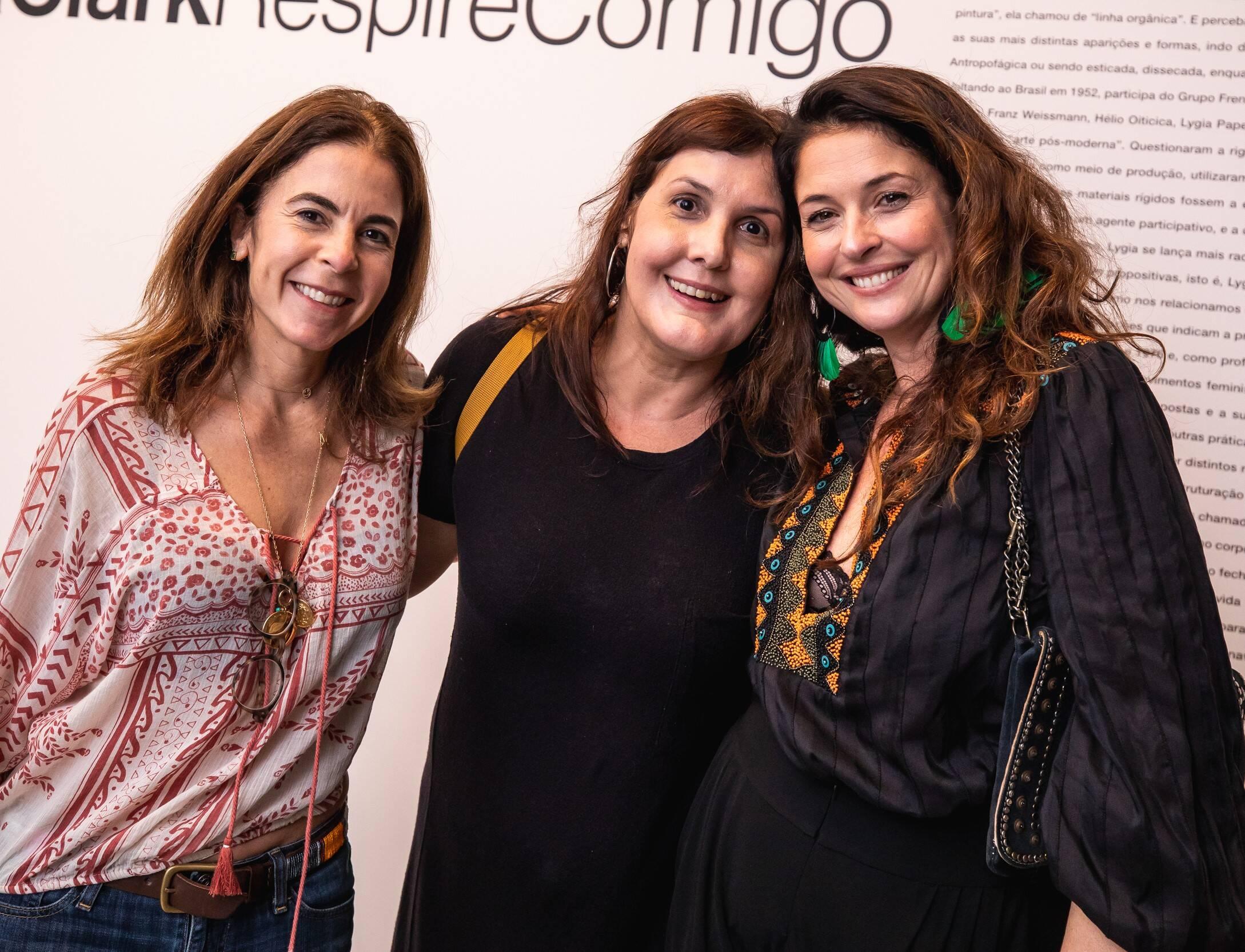 Jackie de Botton, Bianca Clark e Marta Macedo  /Foto: Luke Garcia