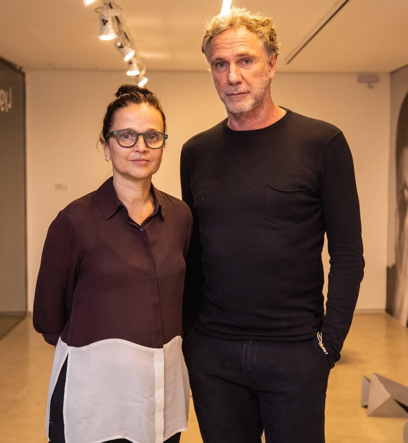 Mari Stockler e Oskar Metsavaht  /Foto: Luke Garcia