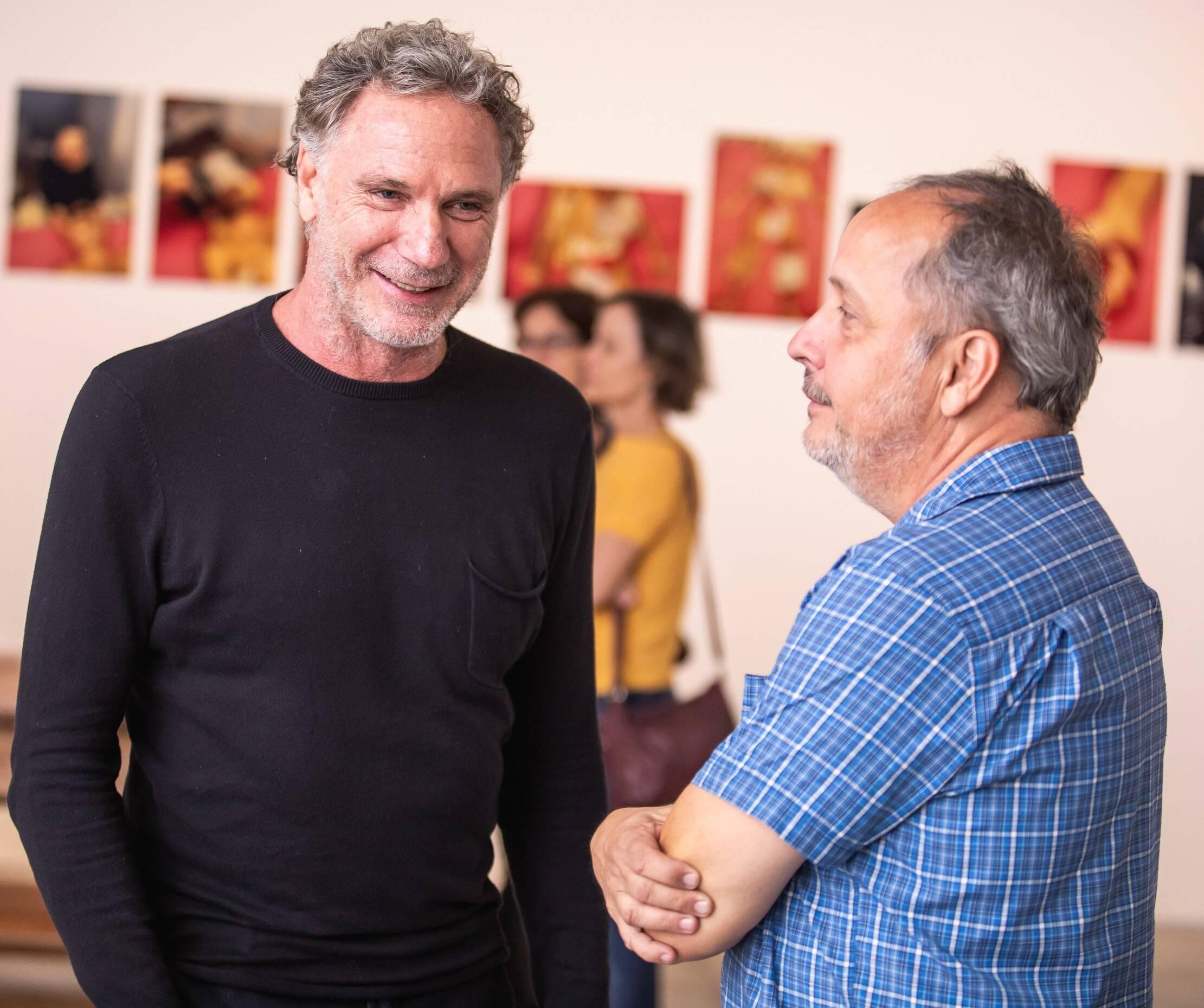 Oskar Metsavaht e Barrão  /Foto: Luke Garcia