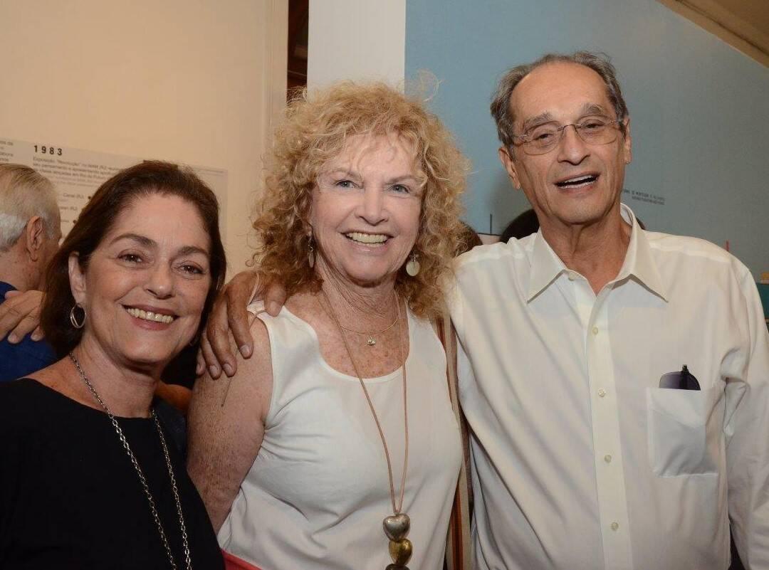 Analu Nabuco, Ira Etiz e Luiz Eduardo Índio da Costa /Foto: Marco Rodrigues