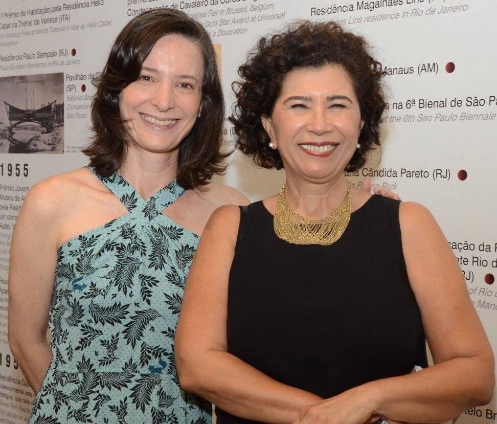 As curadoras Adriana Caúla e Kykah Bernardes /Foto: Marco Rodrigues