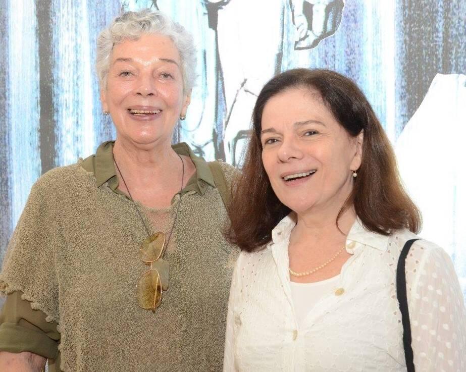 Christiana Bernardes (filha de Sérgio) e Tessy Callado /Foto: Marco Rodrigues