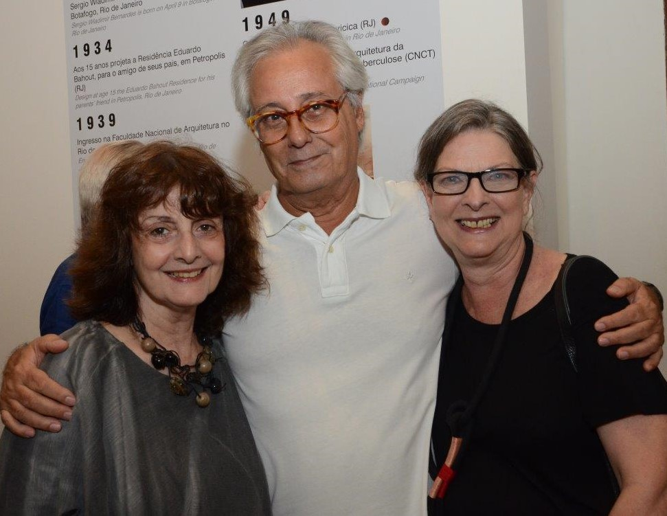 Eliane Longo, Everardo Miranda e Valéria Naslausky /Foto: Marco Rodrigues