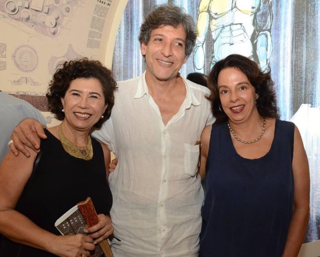 Kykah Bernardes, Jorge Rodriguez Aguilar e Renata Bernardes Proença /Foto: Marco Rodrigues
