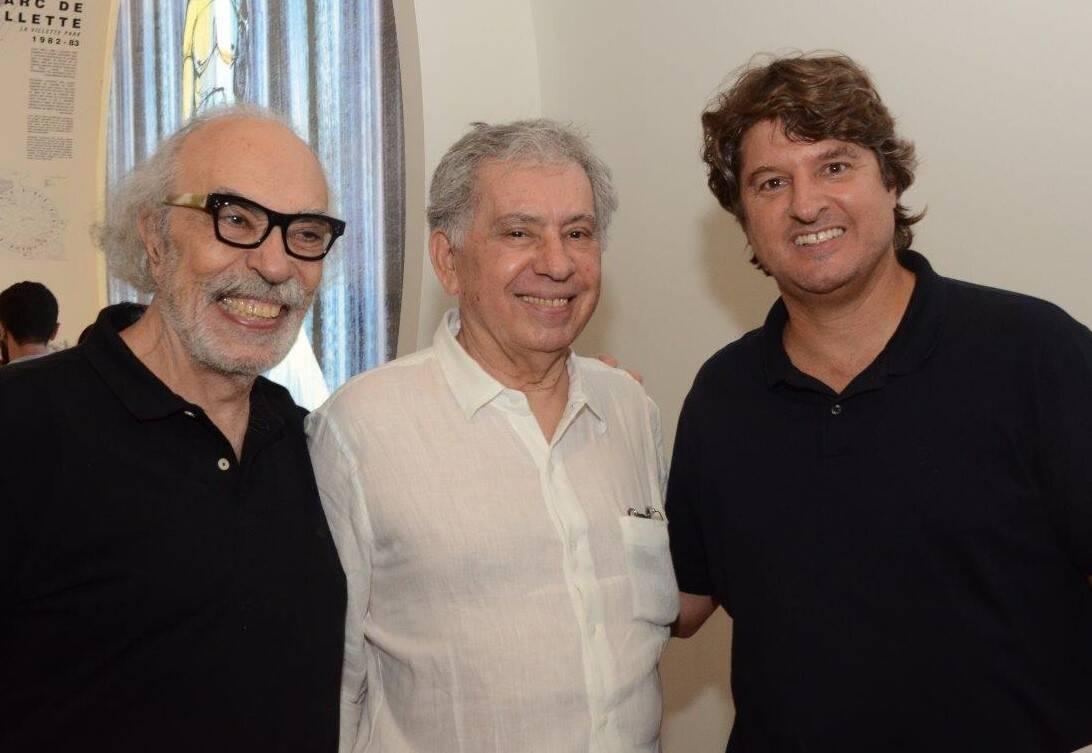 Luiz Fernando Janot, Sergio Magalhães e João Pedro Backheuser /Foto: Marco Rodrigues