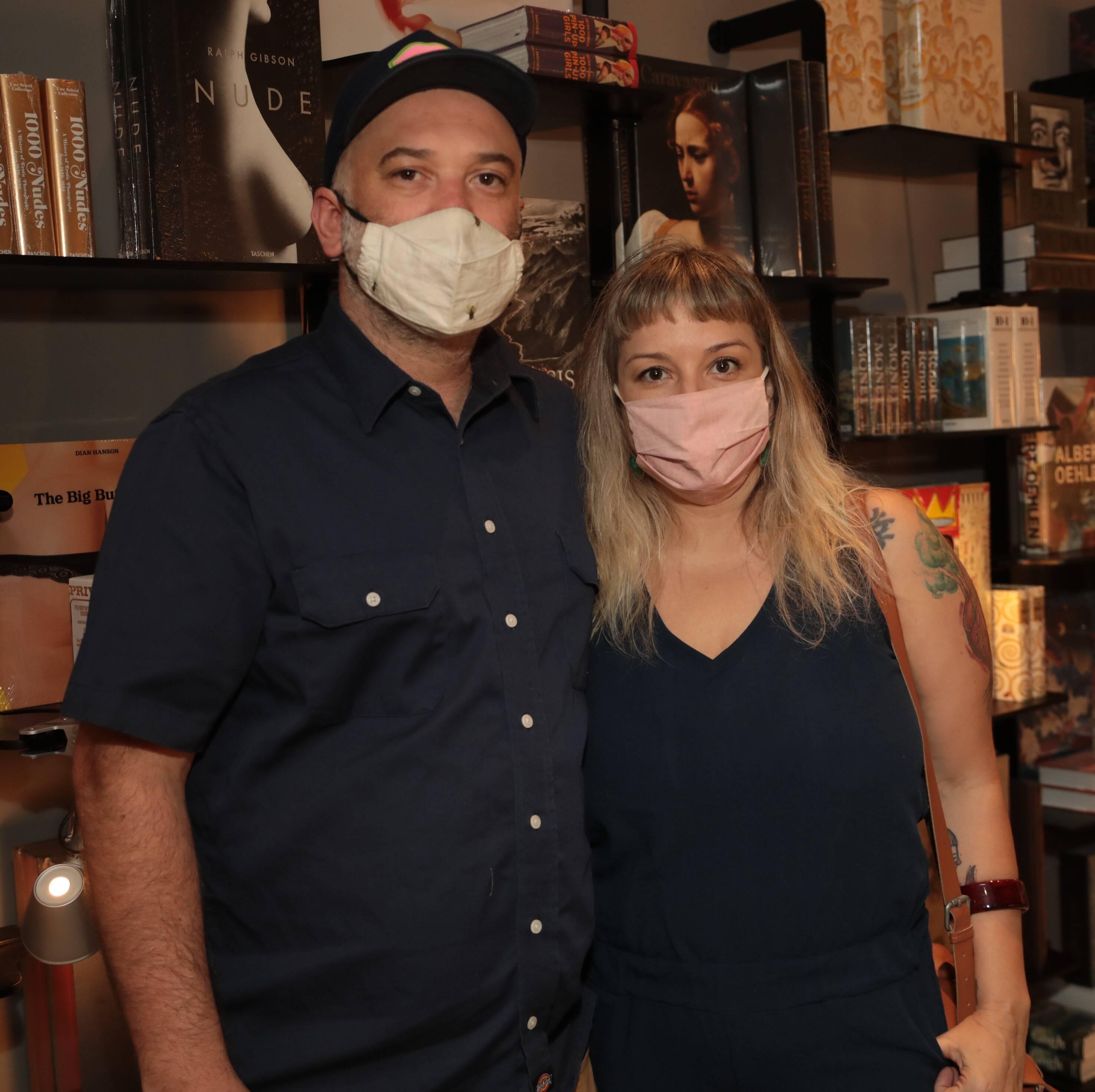 William Baglione e Erika Fischer /Foto: Henrique Padilha