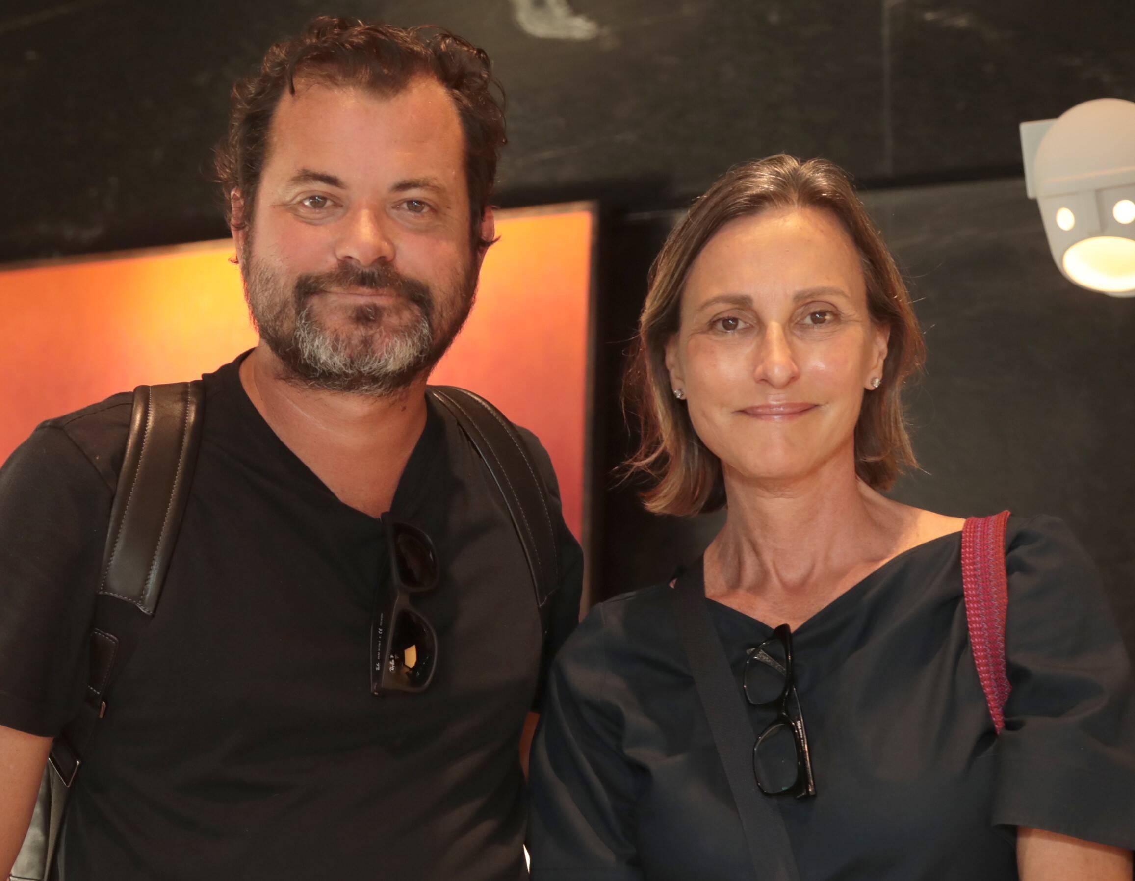 Miguel Pinto Guimarães e Clarissa Schmidt /Foto: Henrique Padilha