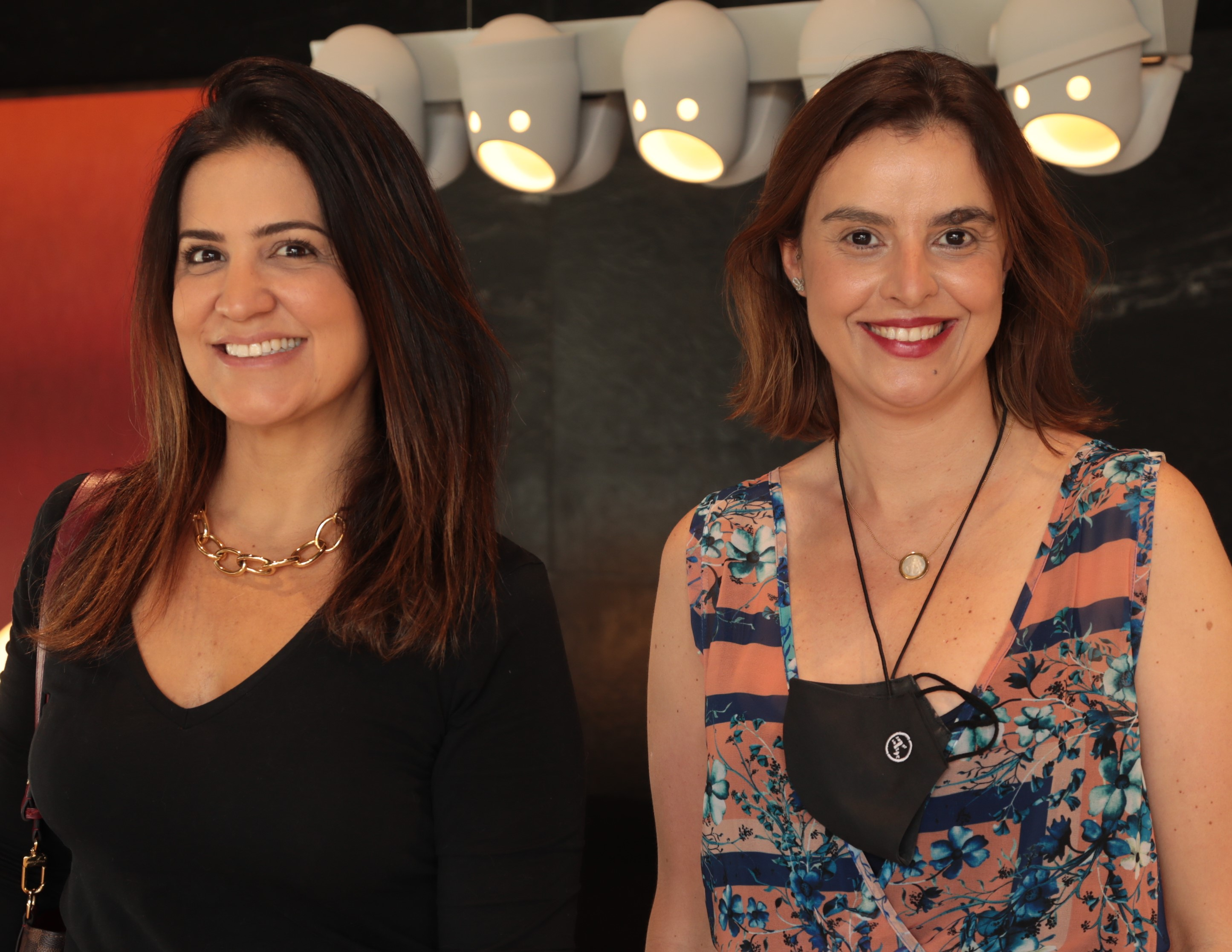 Maianah Coin e Tatiana Alcântara /Foto: Henrique Padilha