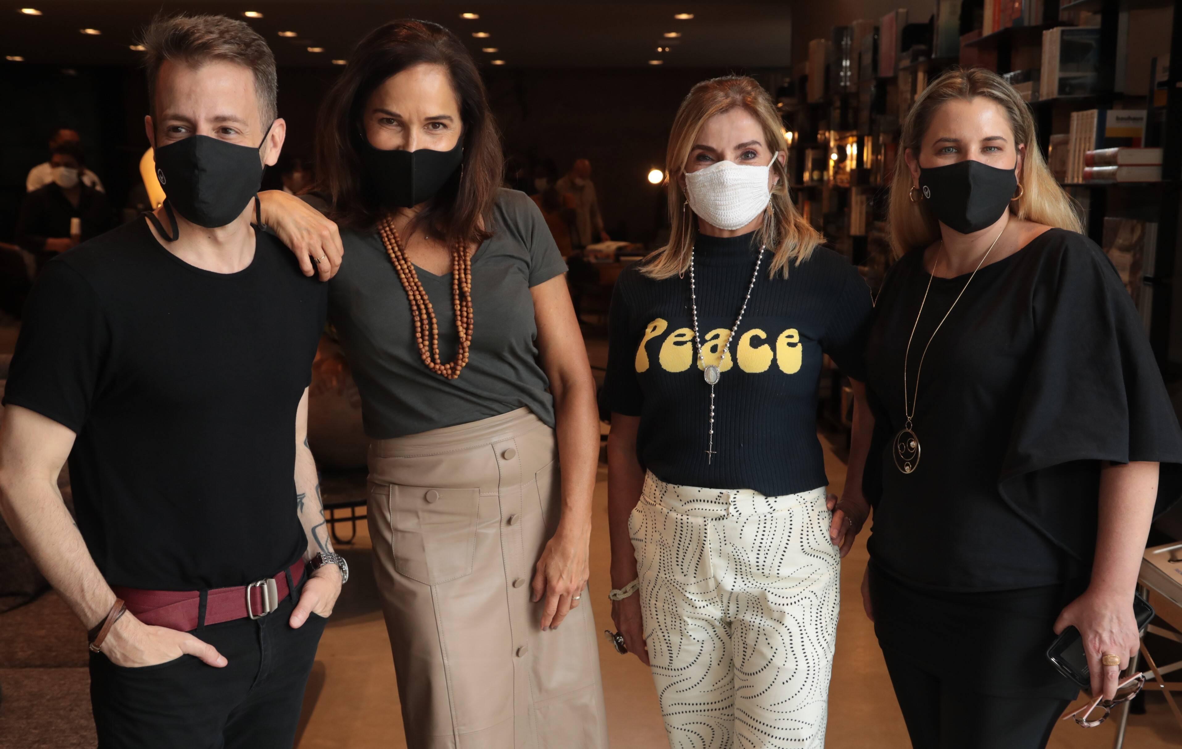 Marcos Amorosino, Marta Sá, Noura Van Dijk e Fabiola Fidalgo /Foto: Henrique Padilha