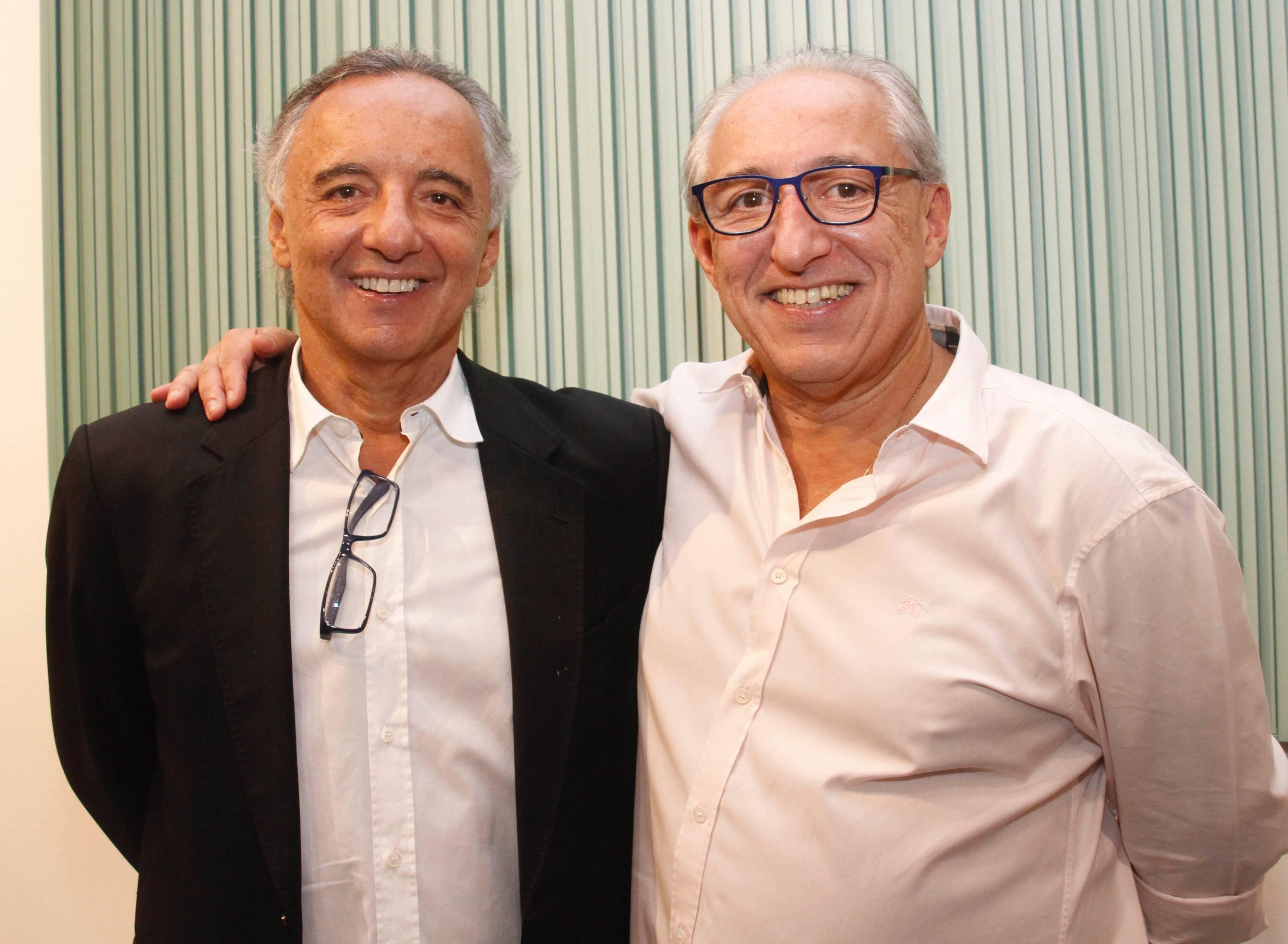 Luiz Caribé e Sergio Caribé /Foto:Leda Abuhab