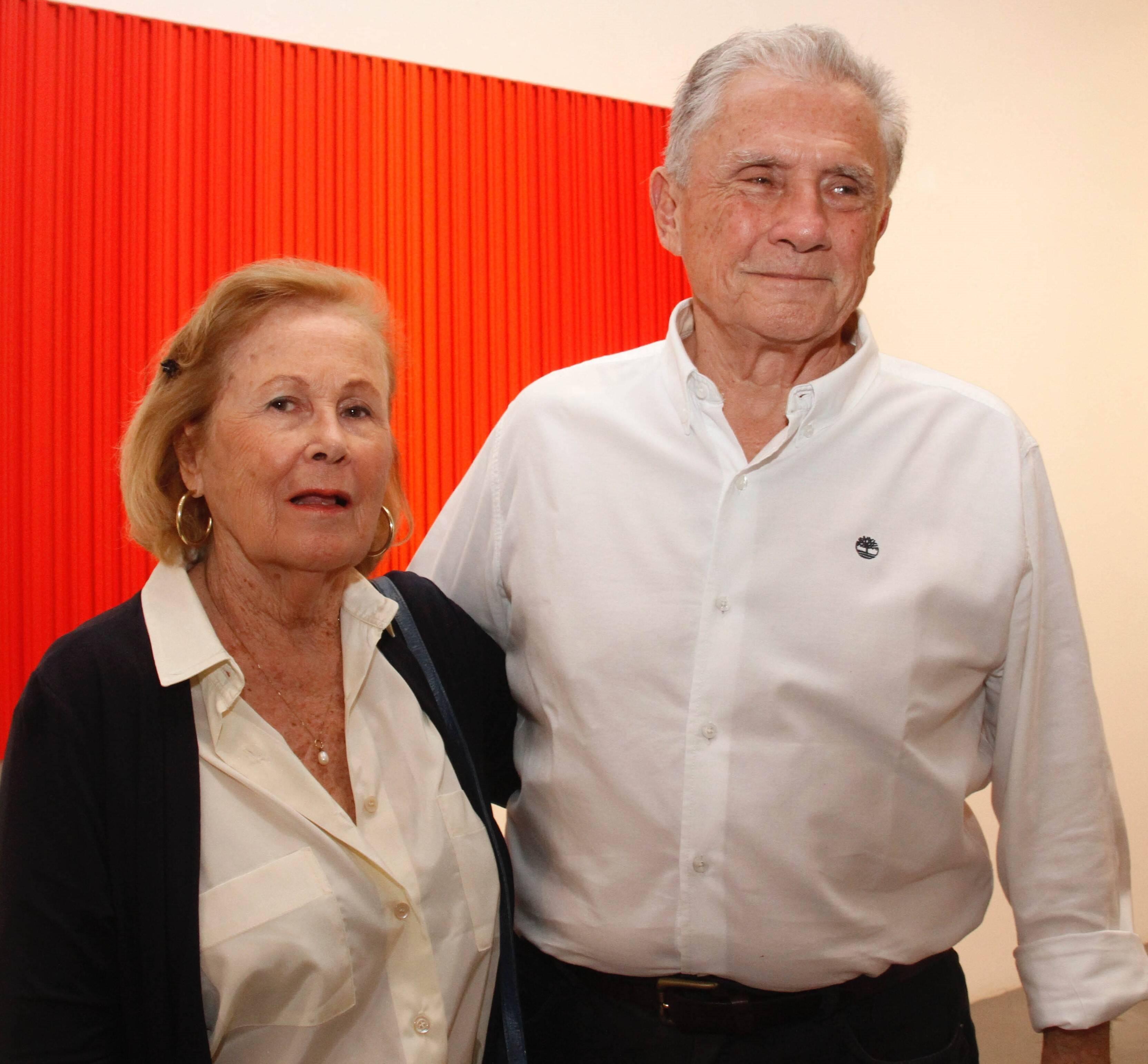 José Luiz e Clarinha Niemeyer dos Santos /Foto:Leda Abuhab