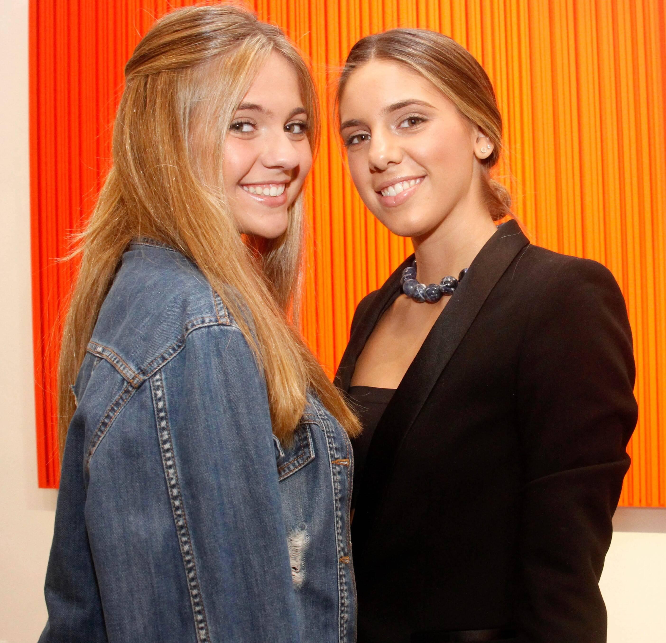Luiza Trindade e Victoria Trindade /Foto:Leda Abuhab