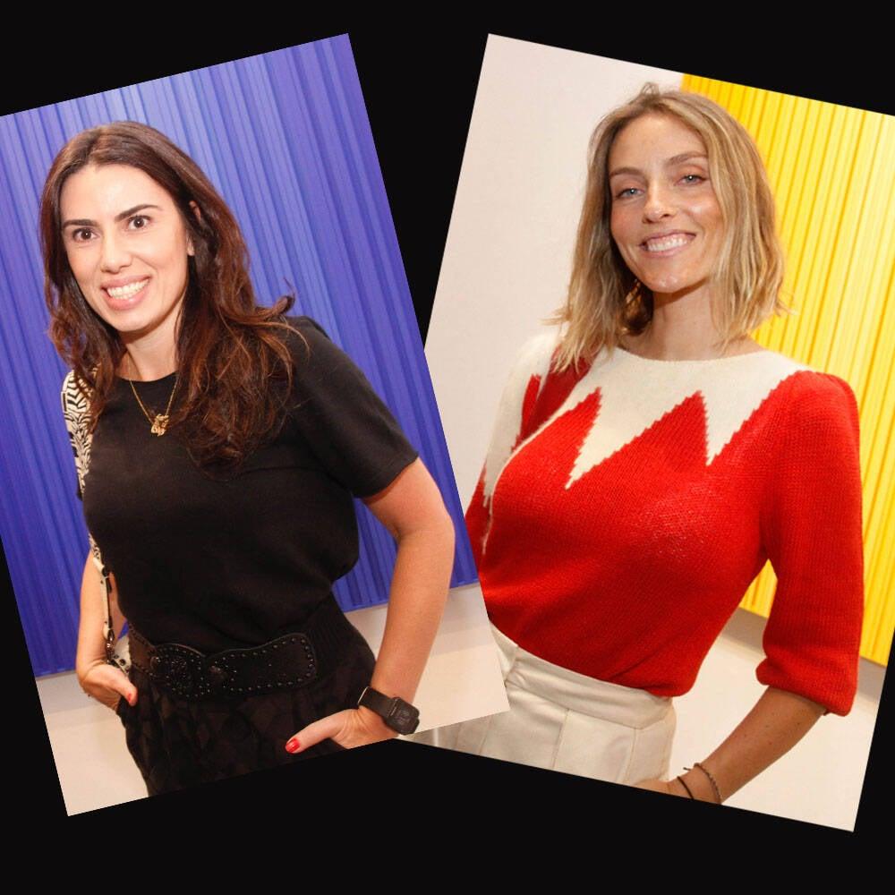 Graziella Castanheira e Marina Sanvincente /Foto:Leda Abuhab