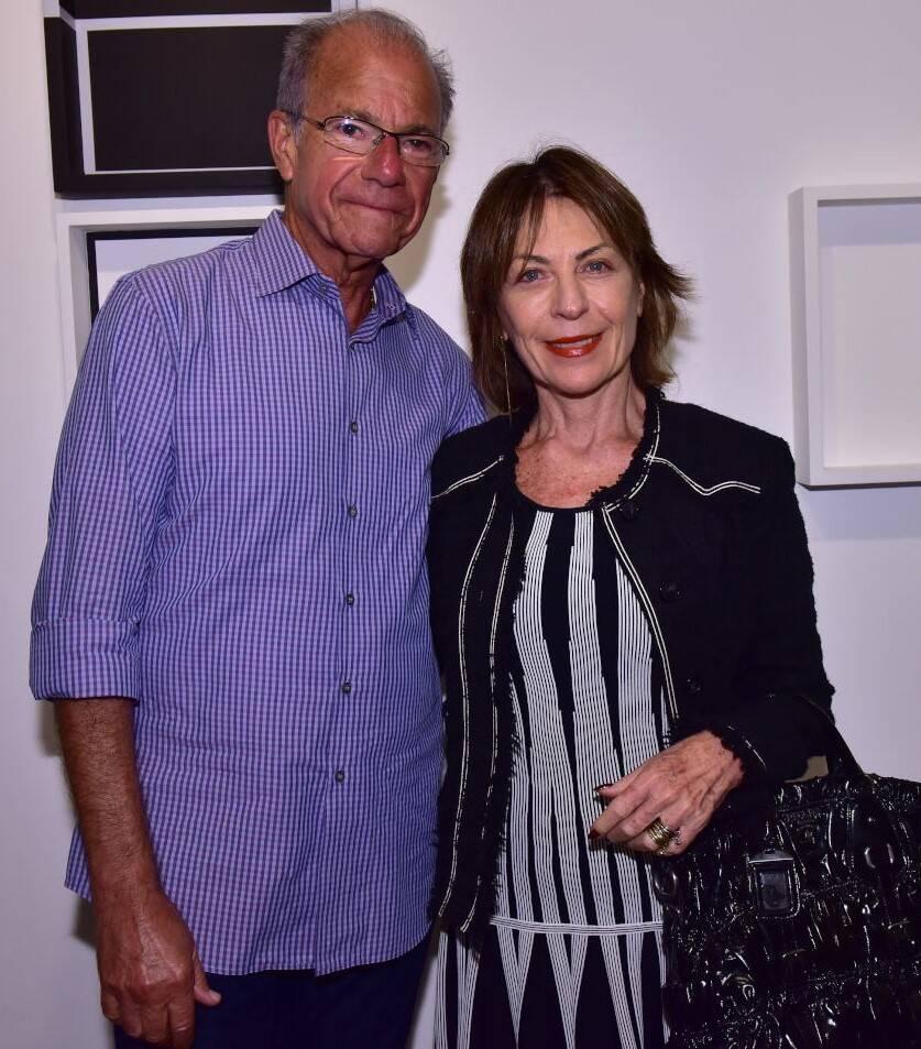 Leôncio e Anita Schwartz /Foto: Paulo Jabur