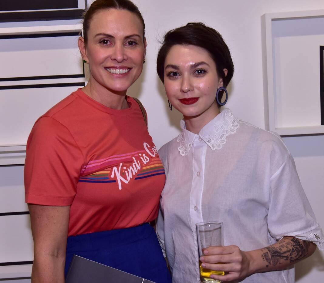 Eneida Gouvêa Vieira e Camila Medina /Foto: Paulo Jabur