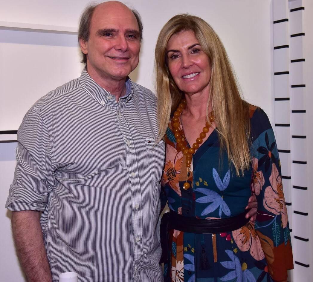 Selmo Marino e Margareth Moreira /Foto: Paulo Jabur