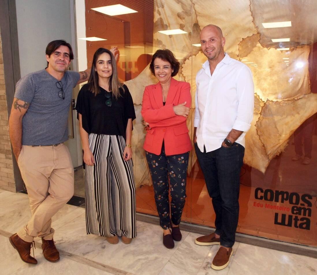 Edu Monteiro, Lais Santana, Marcia Mello e Ricardo Kimaid Jr /Foto: Vera Donato