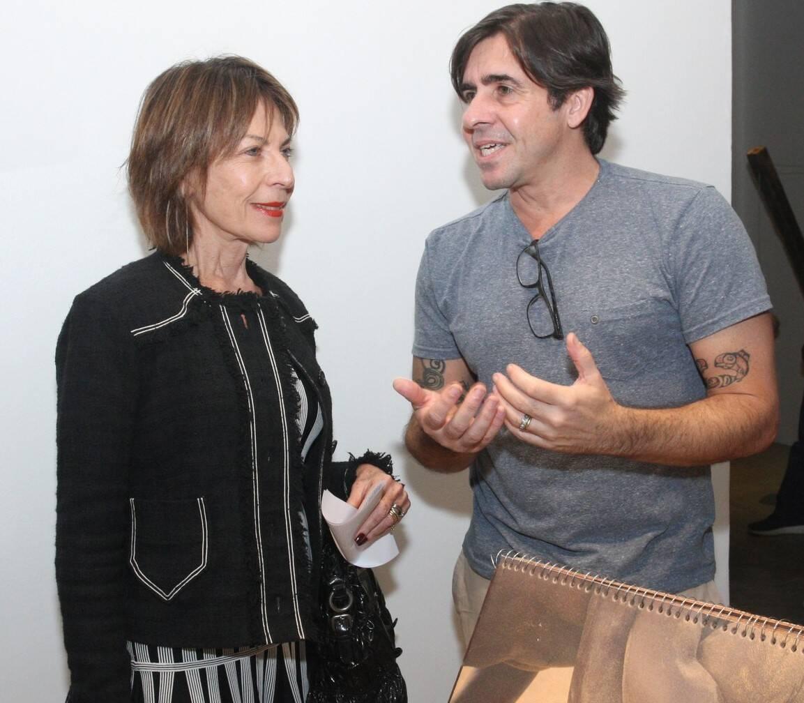 Anita Schwartz e Edu Monteiro  /Foto: Vera Donato