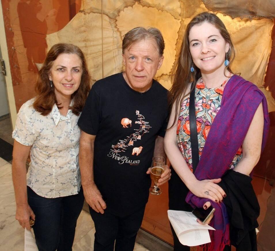 Rosana Buarque de Holanda, Bartolomeu Buarque de Holanda e Karine Prevedello  /Foto: Vera Donato