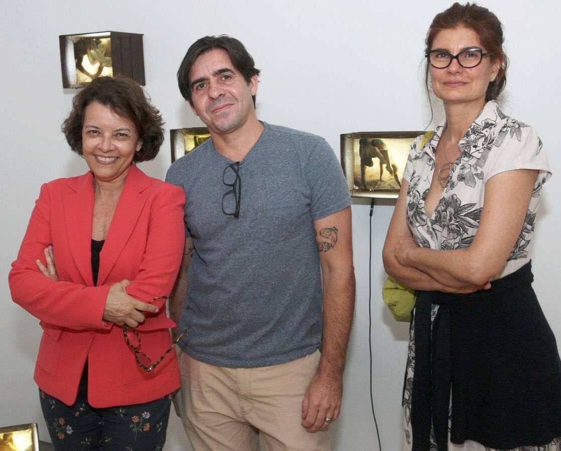 Marcia Mello, Edu Monteiro e Maria Raeder  /Foto: Vera Donato