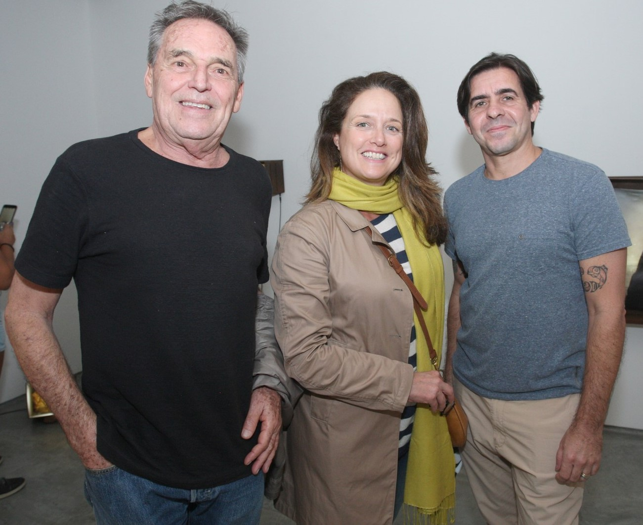Xico Chaves, Flavia Finch e Edu Monteiro  /Foto: Vera Donato
