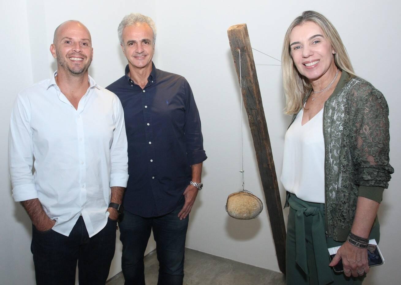 Ricardo Kimaid Jr, Cleber Pereira e Isabela Benjamin  /Foto: Vera Donato