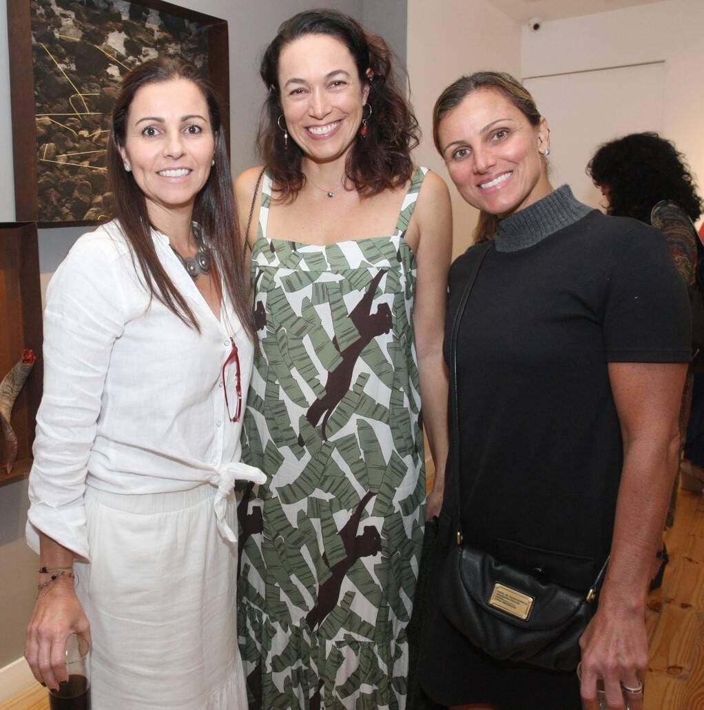 Juliana Kimaid, Roberta Machado e Joana Kfuri  /Foto: Vera Donato