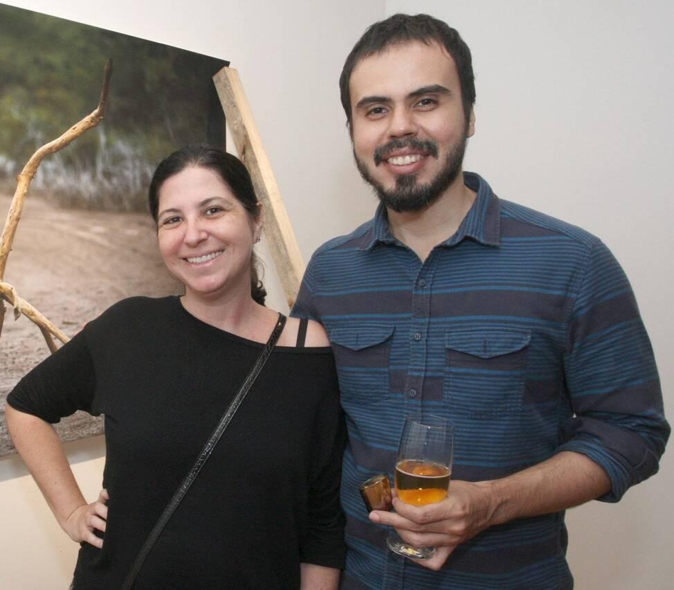 Dominique Valansi e Marcio Couto  /Foto: Vera Donato