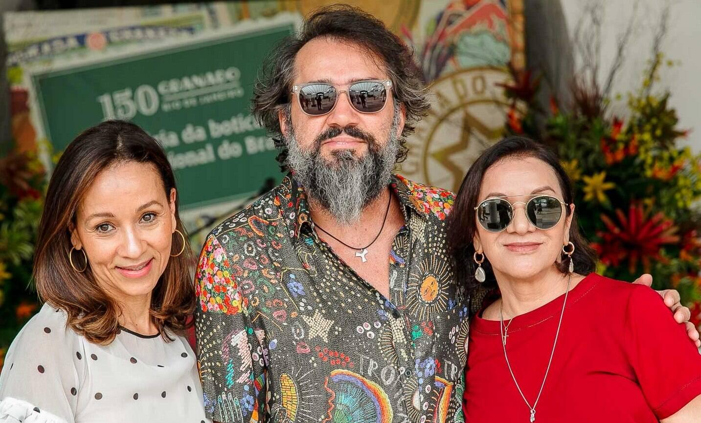 Alessandra Marins, Beto Silva e Sueli Bombieri /Foto: Bruno Ryfer