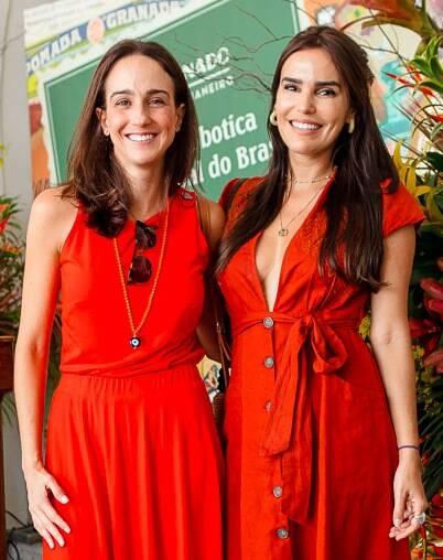 Carla Bragança e Ingridy Farias /Foto: Bruno Ryfer