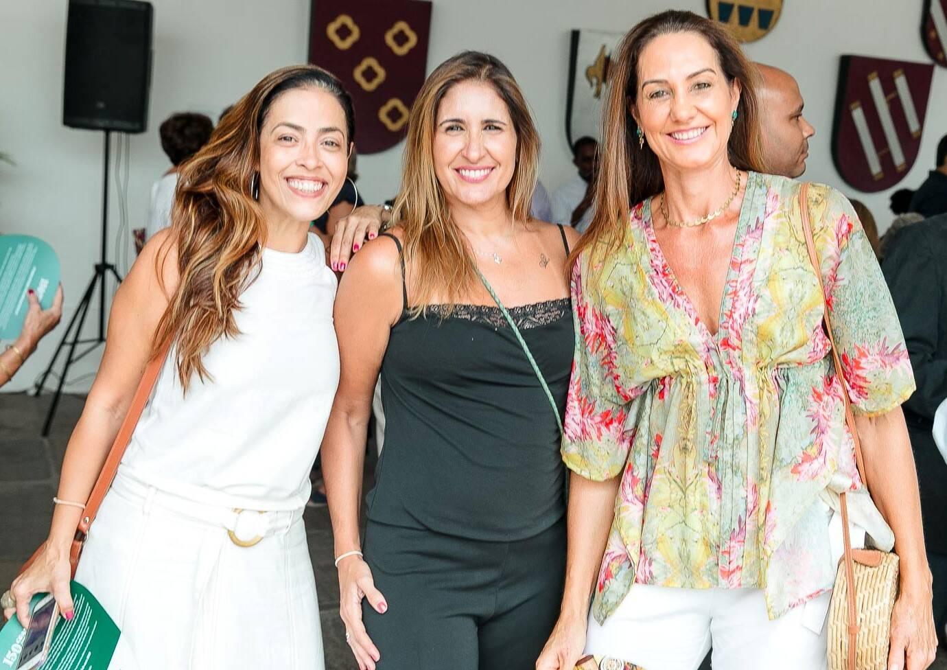 Claudia Andrade, Fabiana Luna e Fernanda Venturini /Foto: Bruno Ryfer