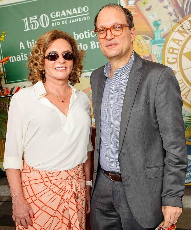 Clicia Freeman e Paulo Knauss /Foto: Bruno Ryfer