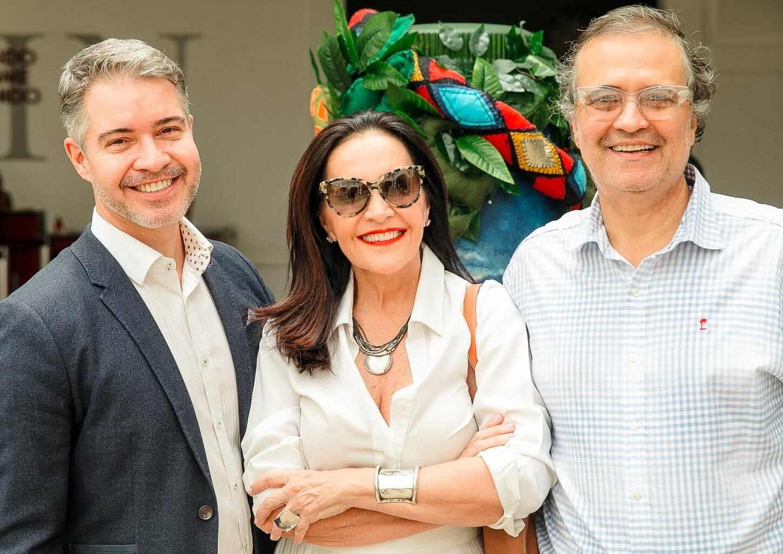 Jayme Drummond, Liliane Rodriguesz e José Ronaldo Müller /Foto: Bruno Ryfer
