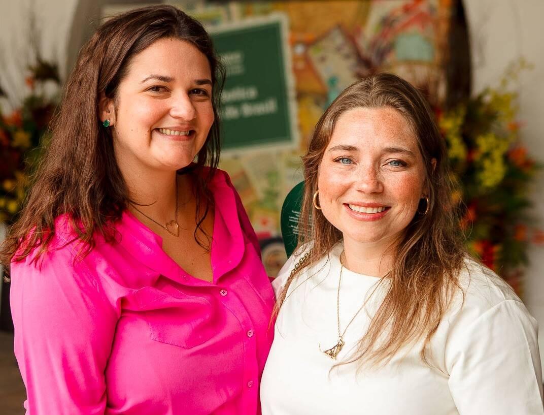 Joana Dale e Sissi Freeman /Foto: Bruno Ryfer