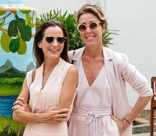 Joana Nolasco e Gabriela Moraes /Foto: Bruno Ryfer