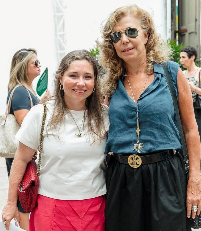 Sissi Freeman e Cecilia Mendes de Almeida /Foto: Bruno Ryfer