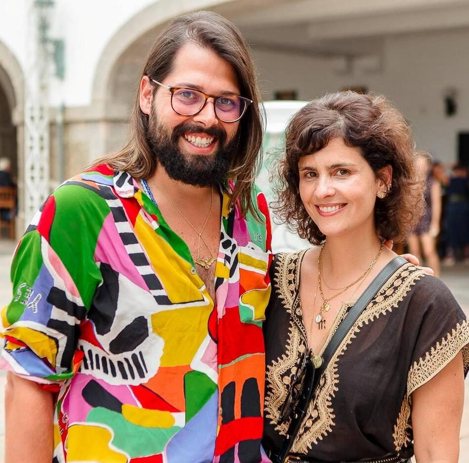 Thomas Azulay e Ana Strumpf /Foto: Bruno Ryfer